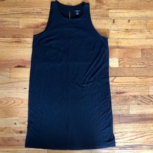 Ann Taylor classic sleeveless little black dress
